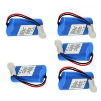 Wholesale Lithium Ion Burglar Alarm Battery Pack / Wireless Alarm Sensor Battery For Security System from china suppliers