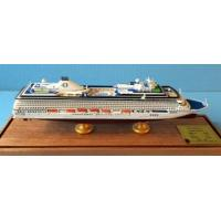 Oceania Cruises Riviera Boat Cruise Ship Model With Original Engraved Corridor for sale