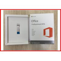 Wholesale Microsoft Office 2016 Professional Plus Open License COA License 1 Pc DVD USB Retail Box from china suppliers