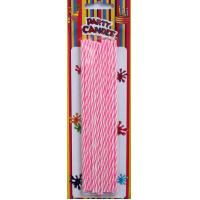 Wholesale Pink and White Long Cake Candles (YFC0005) from china suppliers