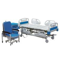 China Remote Control Hospital Patient Bed 5 Functions Electrical Icu Hospital Bed With Cpr on sale