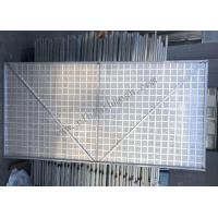 China High Rise Buildings Perforated Metal Mesh , Perforated Steel Mesh Sheets for sale