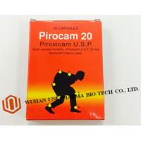 Wholesale Western Medicine Piroxicam Usp 20mg Pharmaceutical Capsules ( Non Steroidal Antiinflammatory Agent With Analgesic ) from china suppliers