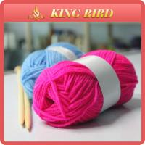 China High bulk Acrylic Knitting Yarn / cotton knitting yarn Environmental on sale