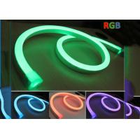 Wholesale Decorative 24V Neon Led Flexible RGB , Color Changing RGB Led Neon Rope Light from china suppliers