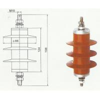 Best 5KA  heavy duty Lightning Surge Arrester gapless polymeric MOA for Transformer YH5WS wholesale