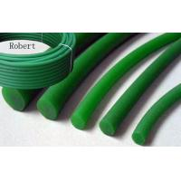 Best SGS Approval Rough Polyurethane Round Belt Green Color For Glass Industry wholesale
