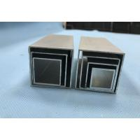 Wholesale Differnet Diameters Square Aluminum Extrusions , Extruded Aluminum Pipe 0.7mm To 6mm from china suppliers