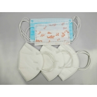 Buy cheap KN95 Face Mask Bacteria Filtration Efficiency: 95% Without Valve 10PCS/bag from wholesalers