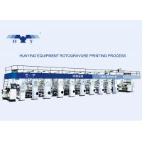 Best Computer Color Register Rotogravure Printing Machine Max Working Speed 185 m/min Solvent-based wholesale