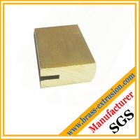Wholesale SGS good quality lock cylinder copper extrusion profile sections from china suppliers