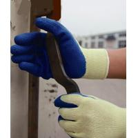 Buy cheap Latex coated gloves,10G high grade T/C liner,mechanical use,crinkle finsh,anti from wholesalers