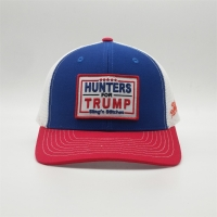 Wholesale 6 Panel Low Profile Hunters Mesh Trump Hat Single Buckle from china suppliers