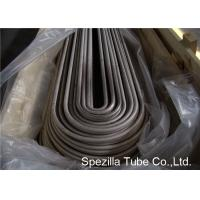 ASTM A249 TP316L U Bend Pipe ,TIG Welded Stainless Steel Tubing