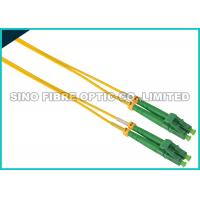 Simplex ST To LC Fiber Patch Cable Singlemode 900 Micron Tight Buffered