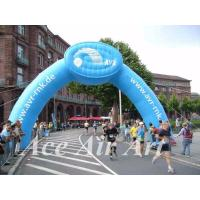 Wholesale custom new design aublasbarer runder torbogen inflatable with logo for advertising in sport event from china suppliers