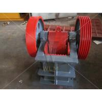 China Cast Steel Stone Jaw Crusher for Laboratory , 3t/h small jaw crusher on sale