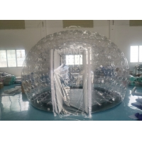 Wholesale Airtight Igloo Transparent Inflatable Dome Tent With Led Light from china suppliers