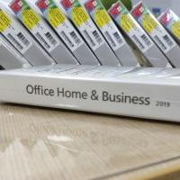 China 32/64 Bit Microsoft Office Home And Business 2019 DVD Package Full Version for sale