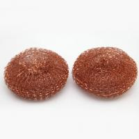 Buy cheap 99.99% Pure Copper Wool Pad / Household H65 Copper Scrubber Pads from wholesalers