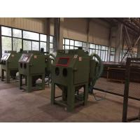 Wholesale Dry sand blasting machine with dust collector , Sand Blast Cabinet deflashing / deburrring machine from china suppliers