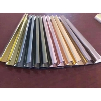 Wholesale 2.5m Alloy 6463 Aluminum Floor Trim Profiles U Channel from china suppliers