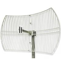 Wholesale 2.4G WIFI Grid Parabolic Antenna With 24dbi from china suppliers