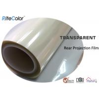 Wholesale Rear Projection Holographic Screen Film / Transparent Rear Projector Film from china suppliers