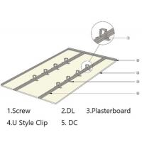 China U Style Super low Suspension Ceiling Partition System-DC+DL+Clip+Connector+Leveling for sale
