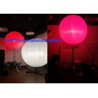 Wholesale High Bright Inflatable Holiday Decorations With Stainless Tripod And DMX Controler from china suppliers