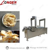 Wholesale Continuous Pork Skin Frying Machine|Automatic Pork Skin Fryer|Industrial Pork Skin Frying Equipment|Continuous Fryer from china suppliers