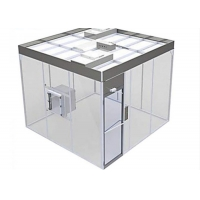 Wholesale Free Design Drawing ISO 8 Clean Room Booth / Class 100000 softwall Clean Room from china suppliers