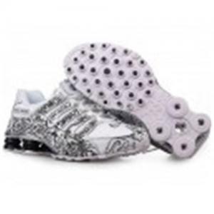 China Mens Nike shox NZ black/gold on sale