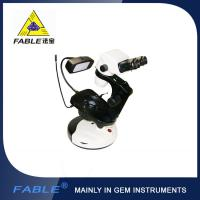 Wholesale Cup dolly Generation 2nd  Swing arm type Gem Microscope With F07 binocular lens from china suppliers