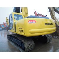 Wholesale Komatsu pc200 excavator pc200-6 Japan made, also used crawler excavator pc200-7/-8 for sale from china suppliers