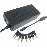 Wholesale Compact Manual 90W Universal Notebook AC Power Adapter with Double USB Port, 5V, 1A from china suppliers