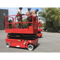 Wholesale 8 M China Electric Scissor Lift Hydraulic Scissor Lifting Platform Self-Propelled Lift Platform from china suppliers