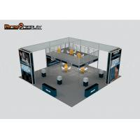 China High End Aluminum Fabric Trade Show Booth / Economical Double Deck Booth on sale
