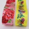 custom ink printing ribbon logo print satin sash ribbon for sale