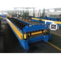 Buy cheap roof wall panel double layer roll forming machine from wholesalers
