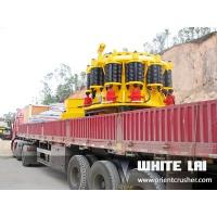 China Quarry Spring Coarse Stone Cone Crusher For Granite 200tph With Concrete Foundation on sale