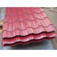 Wholesale AISI / ASTM / JIS Metal Roof Sheeting Steel Workshop Glazed Tile Shape from china suppliers
