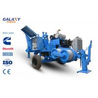China Max Intermittent Pull 60kN Hydraulic Cable Puller Diesel 77kW 103hp Power on sale