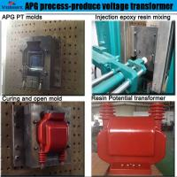 Wholesale China best supplier apg silicone clamping machine for high voltage instrument transformer from china suppliers