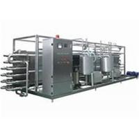 Wholesale Milk UHT Sterilization Machine / Pipe In Pipe Sterilizer With PLC Finger Touch Screen from china suppliers