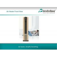 China Luxury Cylindrica Metal Mute Warm Air Conditioner For Commercial Place on sale