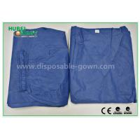 Fashionable Hospital Nurse Scrub Suit Soft and Breathable SMS Material