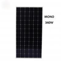 Wholesale 340 watt monocrystalline solar panel applied in industrial and commercial large scale power plants three phase grid conn from china suppliers