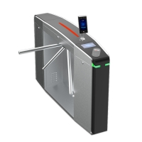Wholesale 30W 304 Stainless Steel Waist High Turnstile Barrier Gate from china suppliers