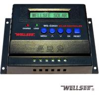 WELLSEE WS-C2430 25A 12/ 24V solar battery charge controller for sale